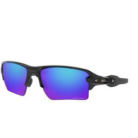 Oakley Flak 2.0 XL Pyöräilylasit, polished black/prizm sapphire iridium polar